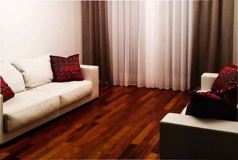 Consulenza design arredo tende e complementi d'arredo tessuti cuscini e divani