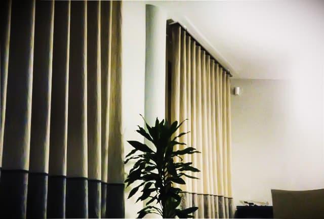 Tenda da interni soggiorno confezionata