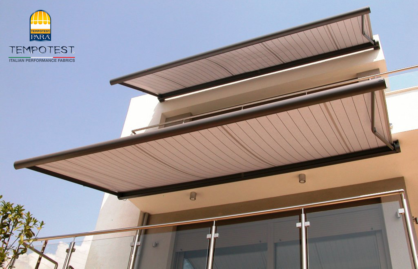 Tende da sole a caduta per balcone